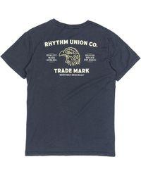 Rhythm - Union T-shirt - Lyst