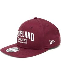 4c3f0831bd2 Ktz Cleveland Cavaliers 9forty Cap in Red for Men - Lyst