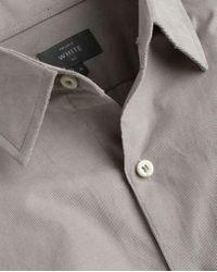 Private White V.c. - The Cord Plain Collar - Lyst