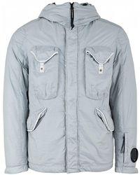 C P Company - Nyfoil Hooded Sleeve Lens Jacket - Lyst