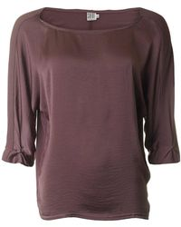 Saint Tropez - Jersey Long Sleeved Top - Lyst