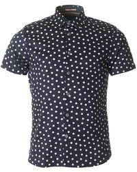 Ted Baker - Liklak Polka Dot Shirt - Lyst