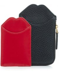 Lulu Guinness - Pop Up Liliana Wallet - Lyst