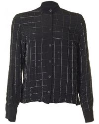 Religion - Sequin Check Fortune Long Sleeved Shirt - Lyst
