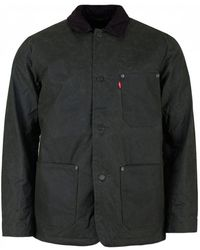 Levi's - Sherpa Engineer Coat - Lyst