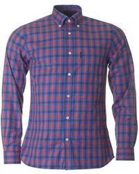 Aquascutum - Emsworth Club Checked Shirt - Lyst
