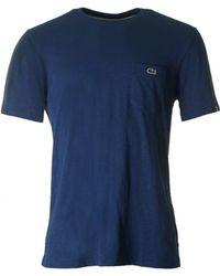 Lacoste L!ive - Slub Pocket Detail Jersey - Lyst