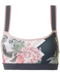 Ted Baker - Palace Gardens Active Crop Top - Lyst