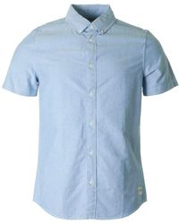 Calvin Klein - Wilbens Short Sleeved Oxford Shirt - Lyst