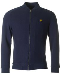 Lyle & Scott - Double Faced Bomber Sweat - Lyst