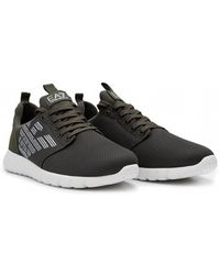 EA7 - Trainers With Logo - Lyst