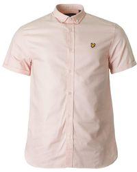 Lyle & Scott - Short Sleeved Oxford Shirt - Lyst