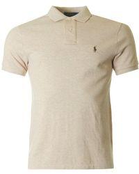 Polo Ralph Lauren - Short Sleeved Slim Fit Mesh Polo - Lyst