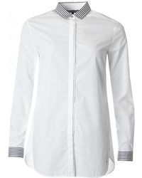 Tommy Hilfiger - Enya Long Sleeved Poplin Shirt - Lyst