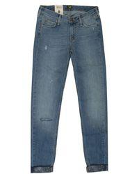 Lee Jeans - Pixley Boyfriend Fit Bandana Print Jeans - Lyst