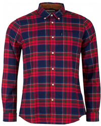 Barbour - Ensleigh Highland Checked Shirt - Lyst