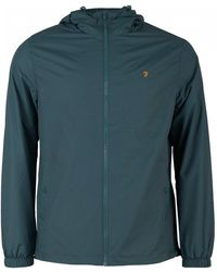 Farah - Smith Zip Through Hooded Jacket - Lyst