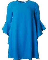 Ted Baker - Plain Flared Sleeve Dress - Lyst