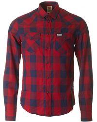 Franklin & Marshall - Long Sleeved Western Shirt - Lyst