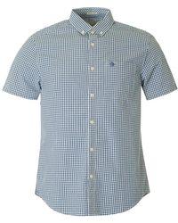 Original Penguin - Bellon Short Sleeved Gingham Shirt - Lyst