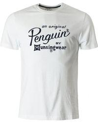Original Penguin - Flocked Script Crew Neck - Lyst