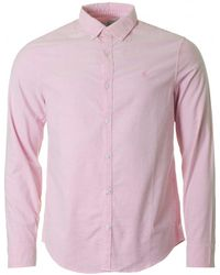 Original Penguin - Long Sleeved Oxford Shirt - Lyst