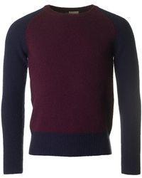Dries Van Noten - Tamal Contrast Sleeve Knit - Lyst