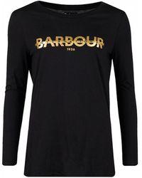 Barbour - International Grandstand Logo Graphic Tee - Lyst