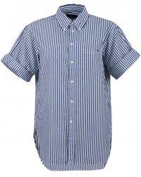 Polo Ralph Lauren - Striped Cotton Oversized Shirt - Lyst