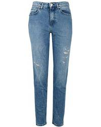 Tommy Hilfiger - Icon Gramercy High Waist Jeans - Lyst