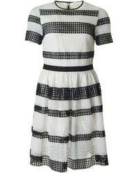 Michael Kors - Striped Dress - Lyst