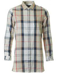 Barbour - Leathen Tartan Checked Shirt - Lyst