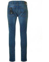 Armani - J45 Regular Tapered Fit Jeans - Lyst