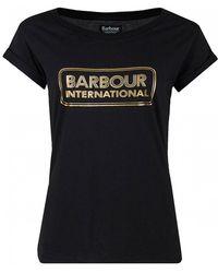 Barbour - Aragan Lozenge Logo - Lyst