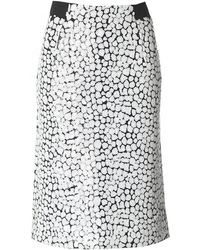 French Connection - Flint Sequin A Line Midi Skirt - Lyst