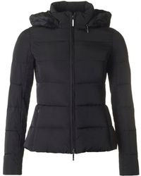 Armani Jeans - Short Fitted Fur Collar Jacket - Lyst