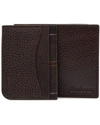 Barbour - Grain Leather Wallet & Card Gift Set - Lyst