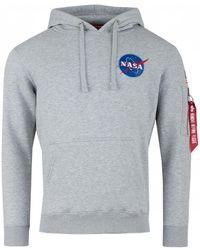 Alpha Industries - Space Shuttle Hoodie - Lyst