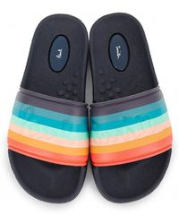 85c0177ae Paul Smith Swami Sandals in Black for Men - Lyst