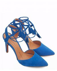 Moda In Pelle - Point Toe Lace Up Tassle Shoes - Lyst