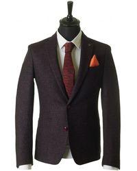Remus - Donegal Tweed Blazer - Lyst
