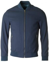 Remus - Small Quilted Bomber Jacket - Lyst