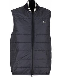 Fred Perry - Lavenham Fred Perry Gilet - Lyst
