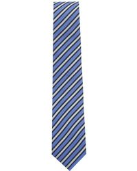 Eton of Sweden - Shadow Stripe Silk Tie - Lyst