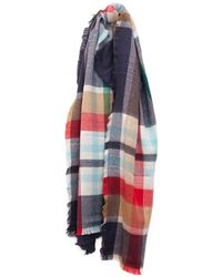 Joules - Soft Handle Oblong Scarf - Lyst