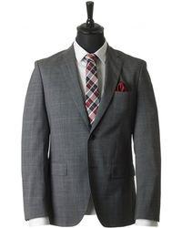 BOSS Black - Johnstons Lennon Pow Check Suit - Lyst