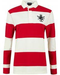 Polo Ralph Lauren - Logo Oversized Rugby Shirt - Lyst