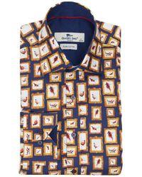 Claudio Lugli | Picture Frame Pheasant Shirt | Lyst