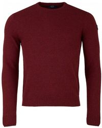 38c7d793e6bf50 Paul & Shark - Lambswool Crew Neck Knit - Lyst