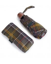 Barbour Tartan Handbag Umbrella - Multicolour